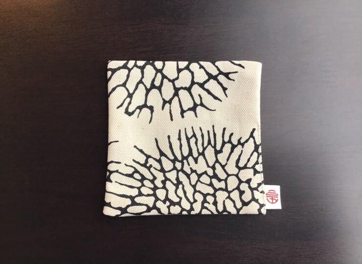 森サンゴ コースター(ホワイト×ブラック)