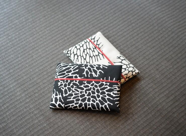 森サンゴ ポケットティッシュケース(ブラック)