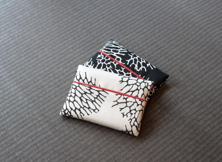 森サンゴ ポケットティッシュケース(オフホワイト)